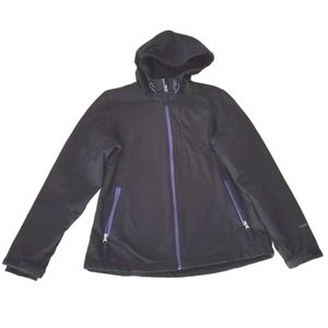 Womens Free Country Black Soft Shell Jacket